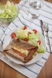 Γαλλική τηγανίτα Buckweat Στοκ εικόνες με δικαίωμα ελεύθερης χρήσης
