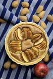 Γαλλική της Apple ξινή πίτα επιδορπίων κέικ γλυκιά Στοκ Φωτογραφίες