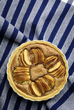 Γαλλική της Apple ξινή πίτα επιδορπίων κέικ γλυκιά Στοκ φωτογραφία με δικαίωμα ελεύθερης χρήσης