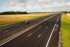 γαλλικός αυτοκινητόδρομος Στοκ φωτογραφία με δικαίωμα ελεύθερης χρήσης