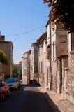 Γαλλικός διπλανός δρόμος στοκ εικόνες