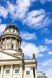 Γαλλικός καθεδρικός ναός στην πλατεία Gendarmenmarkt Βερολίνο Γερμανία Στοκ φωτογραφίες με δικαίωμα ελεύθερης χρήσης