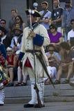 Γαλλικός καναδικός στρατιώτης φεστιβάλ Στοκ εικόνα με δικαίωμα ελεύθερης χρήσης