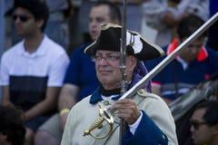 Γαλλικός καναδικός στρατιώτης φεστιβάλ Στοκ Εικόνες