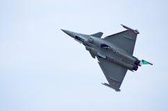 Γαλλικός μαχητής Ντασσώ Rafale στο Ράντομ Airshow, Πολωνία Στοκ φωτογραφίες με δικαίωμα ελεύθερης χρήσης