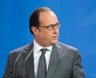 Γαλλικός Πρόεδρος Francois Hollande Στοκ Εικόνες