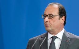 Γαλλικός Πρόεδρος Francois Hollande Στοκ Φωτογραφία