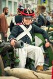γαλλικός στρατιώτης Στοκ Εικόνα