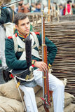 γαλλικός στρατιώτης Στοκ Εικόνες