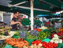 γαλλικό λαχανικό αγοράς Στοκ εικόνες με δικαίωμα ελεύθερης χρήσης