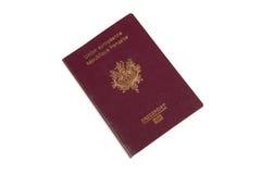 γαλλικό διαβατήριο Στοκ εικόνες με δικαίωμα ελεύθερης χρήσης
