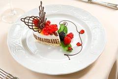 Γαλλικό κέικ μπισκότων Στοκ Φωτογραφίες