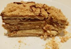 Γαλλικό κέικ Στοκ εικόνες με δικαίωμα ελεύθερης χρήσης