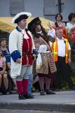 Γαλλικό καναδικό φεστιβάλ Στοκ φωτογραφία με δικαίωμα ελεύθερης χρήσης