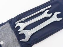 γαλλικό κλειδί εργαλείων εργαλείων σιδήρου Στοκ φωτογραφία με δικαίωμα ελεύθερης χρήσης