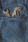Γαλλικό κλειδί σε Jean Στοκ φωτογραφία με δικαίωμα ελεύθερης χρήσης