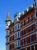 Γαλλικό ξενοδοχείο ύφους πύργων Στοκ Φωτογραφίες