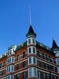 Γαλλικό ξενοδοχείο ύφους πύργων Στοκ φωτογραφία με δικαίωμα ελεύθερης χρήσης