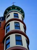 Γαλλικό ξενοδοχείο ύφους πύργων Στοκ φωτογραφίες με δικαίωμα ελεύθερης χρήσης