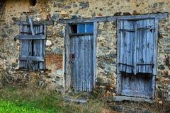 γαλλικό σπίτι Στοκ εικόνα με δικαίωμα ελεύθερης χρήσης