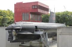 Γαλλικό υποβρύχιο Argonaute Στοκ εικόνες με δικαίωμα ελεύθερης χρήσης