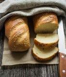Γαλλικό baguette Στοκ εικόνες με δικαίωμα ελεύθερης χρήσης