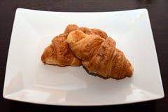 Γαλλικό Croissant Στοκ εικόνα με δικαίωμα ελεύθερης χρήσης