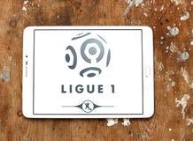 Γαλλικό ligue 1 λογότυπο Στοκ Φωτογραφία