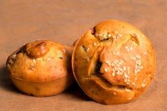 Γαλλικό muffin στοκ εικόνα