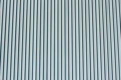 Γδυμένος μπλε τοίχος μετάλλων στοκ εικόνες με δικαίωμα ελεύθερης χρήσης
