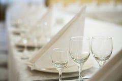 Γεγονός εστιατορίων Συμπόσιο, γάμος, εορτασμός Στοκ Φωτογραφία