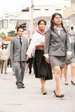 Γεγονός θερινών διακοπών σπουδαστών γυμνασίου στοκ φωτογραφία