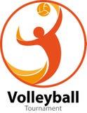 Γεγονός λογότυπων πρωταθλημάτων πετοσφαίρισης διανυσματική απεικόνιση
