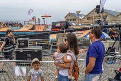 Γεγονότα στο φεστιβάλ Ο Marisquino στο Vigo στοκ εικόνες με δικαίωμα ελεύθερης χρήσης