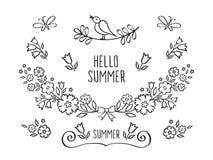 Γειά σου καλοκαίρι Στοκ Εικόνες