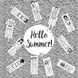 Γειά σου καλοκαίρι! Στοκ φωτογραφία με δικαίωμα ελεύθερης χρήσης
