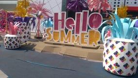 Γειά σου, καλοκαίρι! Στοκ φωτογραφία με δικαίωμα ελεύθερης χρήσης