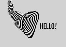 Γειά σου! Σήραγγα abstract background striped τέχνη οπτική απεικόνιση αποθεμάτων