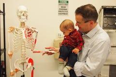 Γειά σου, σκελετός Στοκ φωτογραφία με δικαίωμα ελεύθερης χρήσης