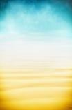 Γεια-βασικοί άμμος και ουρανός Στοκ εικόνες με δικαίωμα ελεύθερης χρήσης