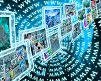 γεια τεχνολογία διαπροσωπειών Στοκ εικόνα με δικαίωμα ελεύθερης χρήσης