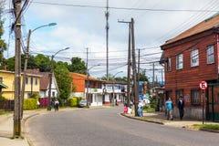 Γειτονιά σε Valdivia Στοκ Εικόνα