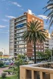 Γειτονιά Pocitos, Μοντεβίδεο, Ουρουγουάη Στοκ φωτογραφία με δικαίωμα ελεύθερης χρήσης