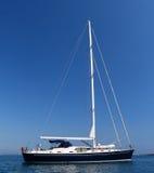 γειωμένο sailboat Στοκ Φωτογραφία