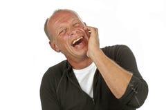 Γελώντας άτομο Στοκ φωτογραφίες με δικαίωμα ελεύθερης χρήσης