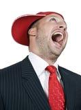 γελώντας άτομο Στοκ φωτογραφία με δικαίωμα ελεύθερης χρήσης