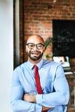 Γελώντας επιχειρηματίας Στοκ φωτογραφία με δικαίωμα ελεύθερης χρήσης