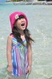 Γελώντας κινεζικό κορίτσι Στοκ Φωτογραφία