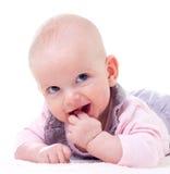 Γελώντας μωρό Στοκ εικόνα με δικαίωμα ελεύθερης χρήσης