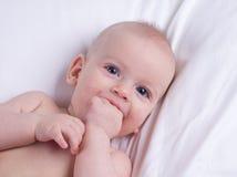 Γελώντας μωρό Στοκ Εικόνες